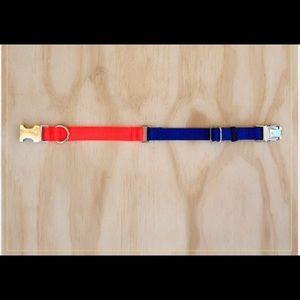 Two tone Nylon Collar - Large